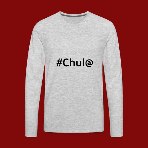 chul@ - Men's Premium Long Sleeve T-Shirt