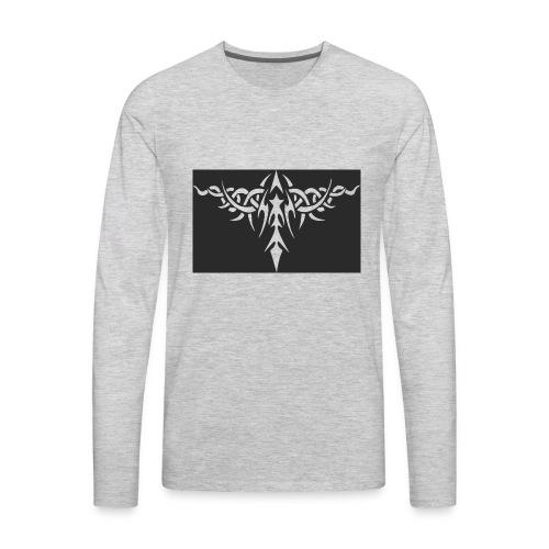 4 2 tribal tattoos png hd11 - Men's Premium Long Sleeve T-Shirt