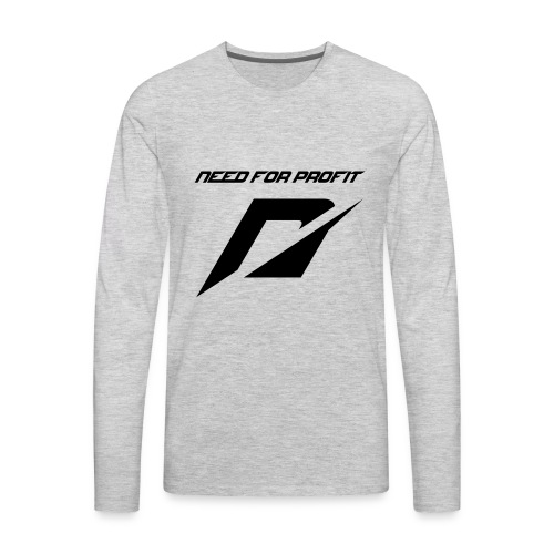 need for profit - Men's Premium Long Sleeve T-Shirt