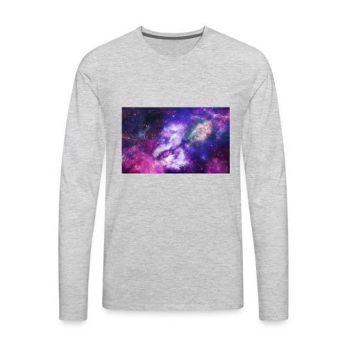 ONYX NEBULA SHIRT - Men's Premium Long Sleeve T-Shirt
