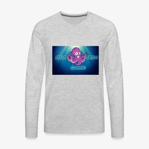 Aqua - Men's Premium Long Sleeve T-Shirt