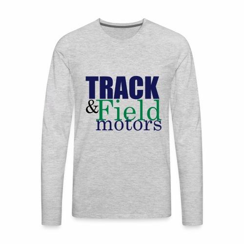 Track & Field Logo - Men's Premium Long Sleeve T-Shirt