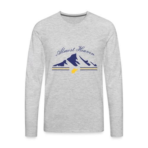Almost Heaven - Men's Premium Long Sleeve T-Shirt