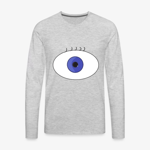 eye - Men's Premium Long Sleeve T-Shirt