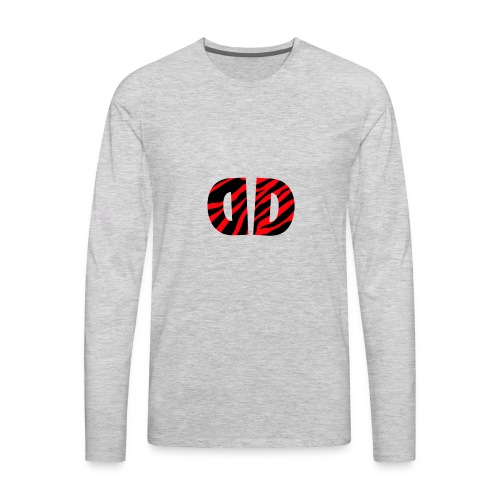 Dusk official logo merch!! - Men's Premium Long Sleeve T-Shirt