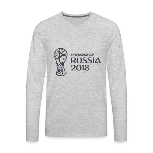 World Russia 2018 - Men's Premium Long Sleeve T-Shirt