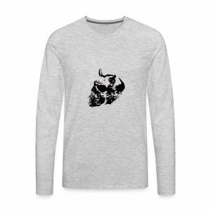devil skull - Men's Premium Long Sleeve T-Shirt