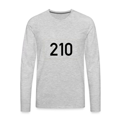 210 - Men's Premium Long Sleeve T-Shirt