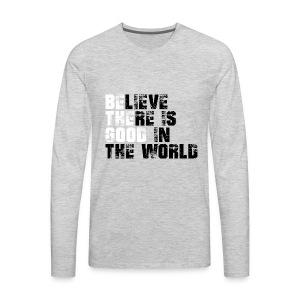 Be The Good - Men's Premium Long Sleeve T-Shirt