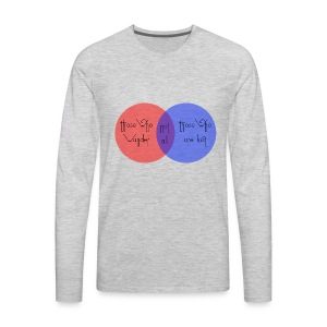 wander venn - Men's Premium Long Sleeve T-Shirt