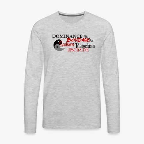 bdsm - Men's Premium Long Sleeve T-Shirt