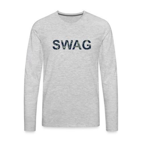 SWAG T-SHIRT - Men's Premium Long Sleeve T-Shirt