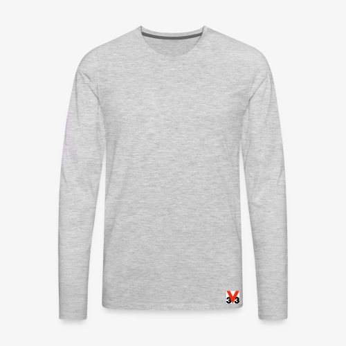 Mini Logo - Men's Premium Long Sleeve T-Shirt