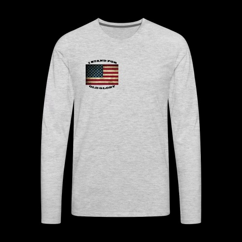 FLAG1 - Men's Premium Long Sleeve T-Shirt