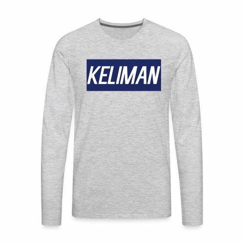 KeliMan Logo V1 - Men's Premium Long Sleeve T-Shirt