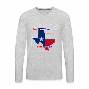 Inner Texan - Men's Premium Long Sleeve T-Shirt