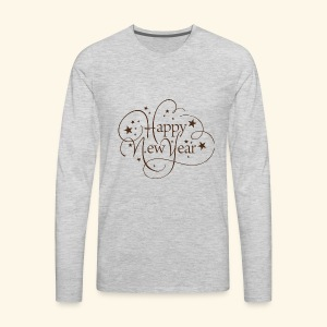 Happy New Year - Men's Premium Long Sleeve T-Shirt