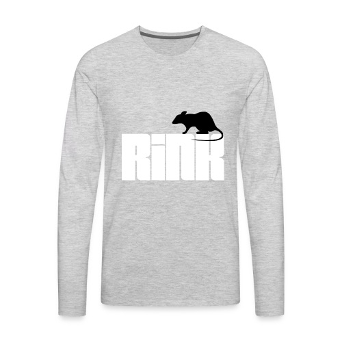 Rink Rat - Men's Premium Long Sleeve T-Shirt