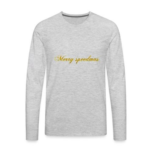 Merry speedmass christmas - Men's Premium Long Sleeve T-Shirt