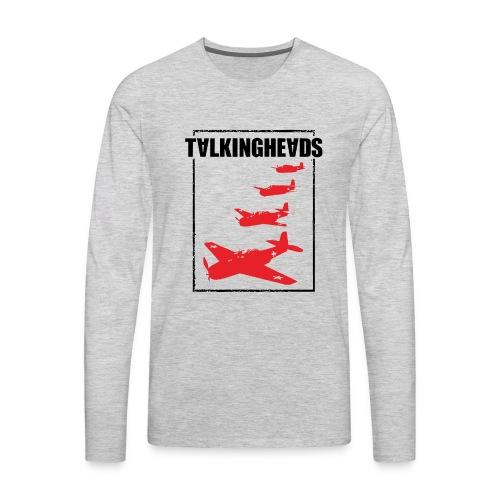 Talking Heads - Men's Premium Long Sleeve T-Shirt