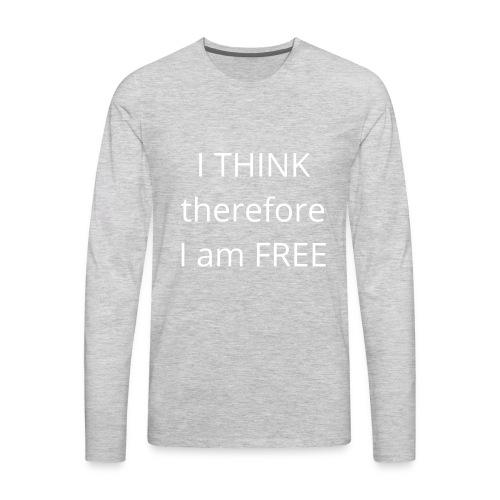 Freethinker - Men's Premium Long Sleeve T-Shirt