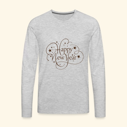 Happy New Year - Men's Premium Long Sleeve T-Shirt