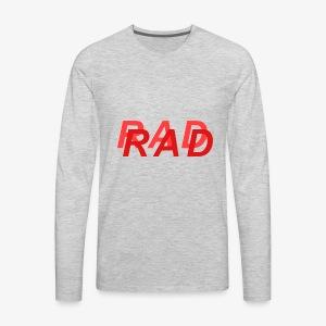 RAD IN RED - Men's Premium Long Sleeve T-Shirt