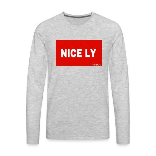 NICE LY - Men's Premium Long Sleeve T-Shirt