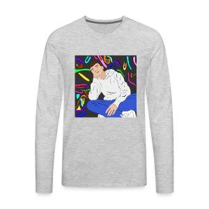 Adam graffiti - Men's Premium Long Sleeve T-Shirt