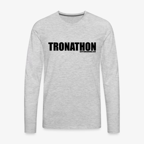 Tronathon CW - Men's Premium Long Sleeve T-Shirt