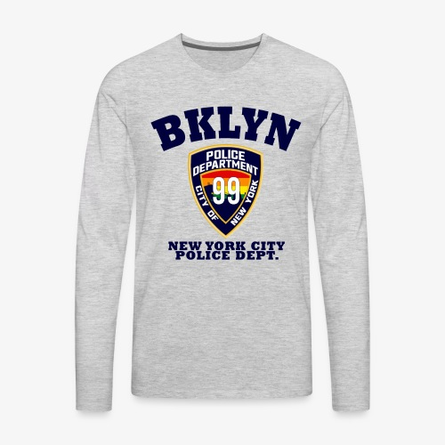 Vintage Brooklyn 99 - Men's Premium Long Sleeve T-Shirt