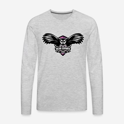 Talon eSports Breast Cancer Awareness - Men's Premium Long Sleeve T-Shirt