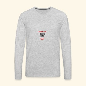 Still Serve - Men's Premium Long Sleeve T-Shirt