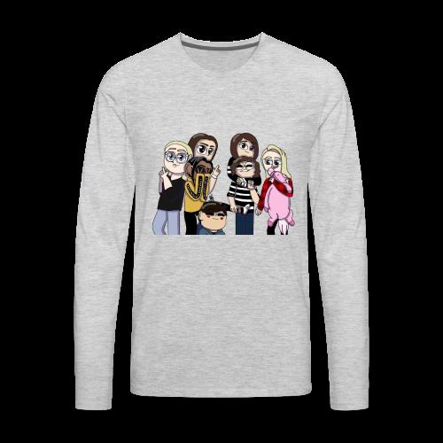 For my bros - Men's Premium Long Sleeve T-Shirt