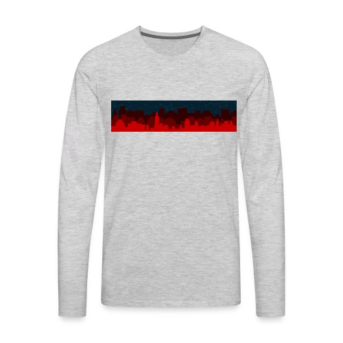 Paint the Town RED - Men's Premium Long Sleeve T-Shirt