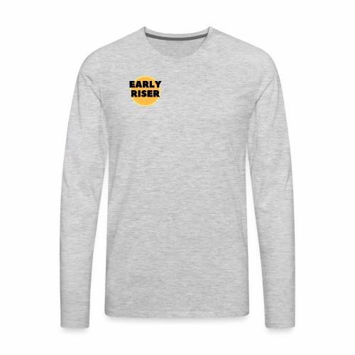 Early Riser - Men's Premium Long Sleeve T-Shirt