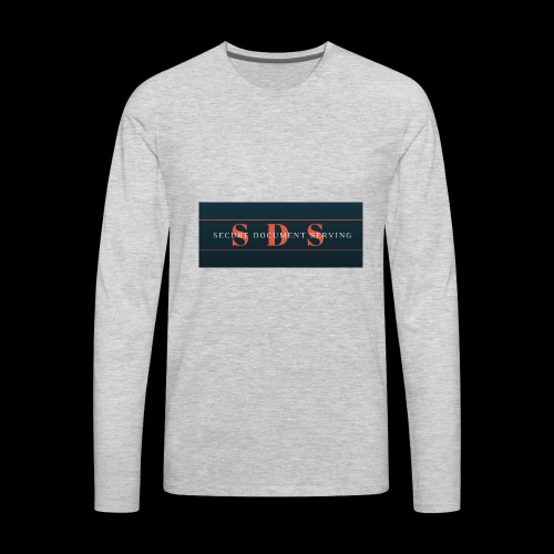 Secure Document Serving 1 - Men's Premium Long Sleeve T-Shirt