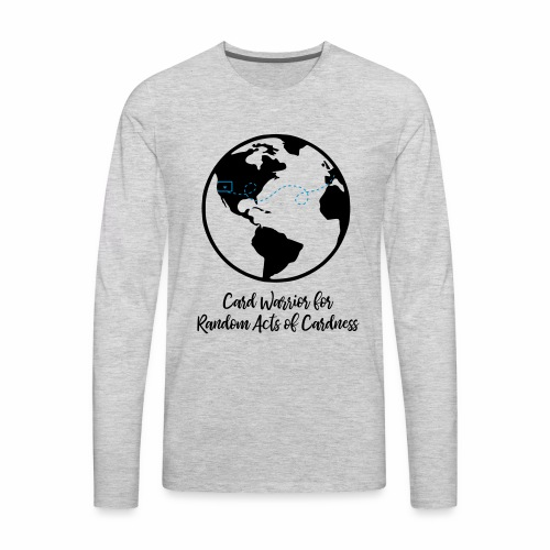 Globe - Card Warrior for Random Acts of Cardness - Men's Premium Long Sleeve T-Shirt