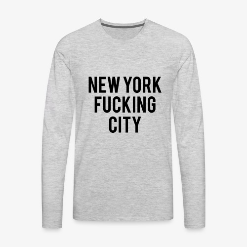 NYC - Men's Premium Long Sleeve T-Shirt