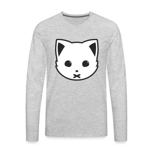 Meowx (Logo) - Men's Premium Long Sleeve T-Shirt