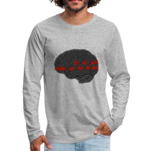 Static Brain - Men's Premium Long Sleeve T-Shirt