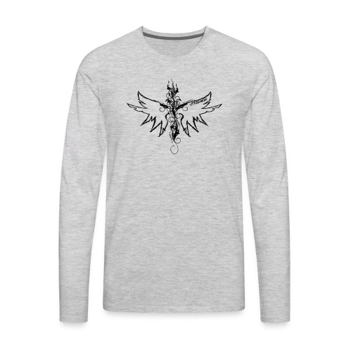 peace.love.good karma - Men's Premium Long Sleeve T-Shirt