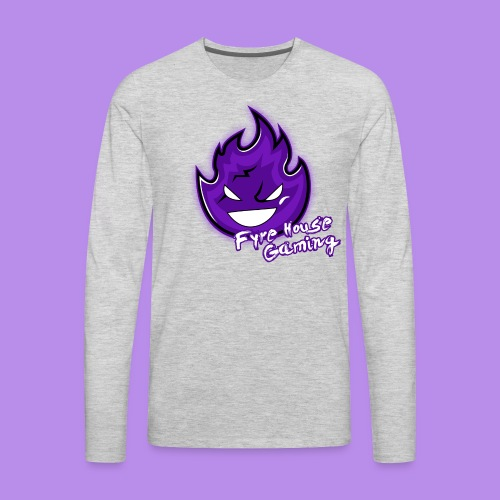 FyreHouseGaming - Men's Premium Long Sleeve T-Shirt