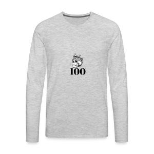 100 subs merch - Men's Premium Long Sleeve T-Shirt