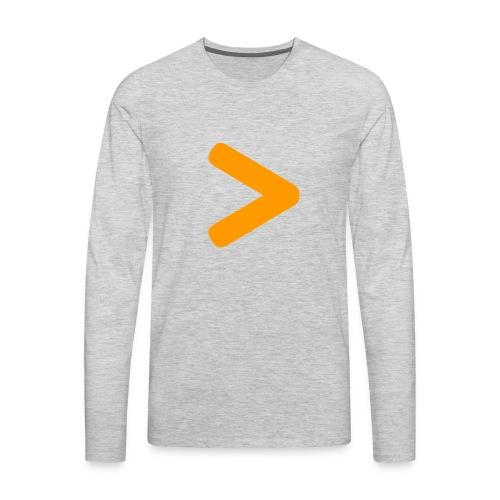 The Secret - Men's Premium Long Sleeve T-Shirt