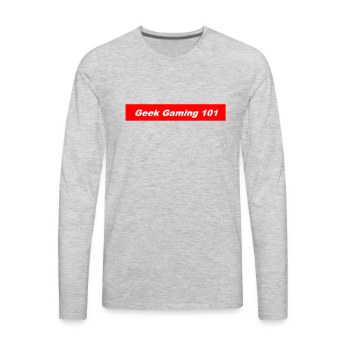 geek gaming bogo - Men's Premium Long Sleeve T-Shirt