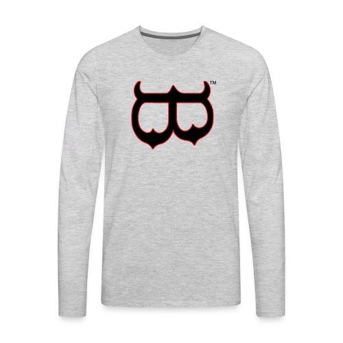 Upside Down or Mask B - Men's Premium Long Sleeve T-Shirt