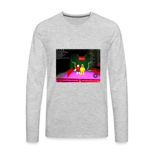 a roblox moment - Men's Premium Long Sleeve T-Shirt
