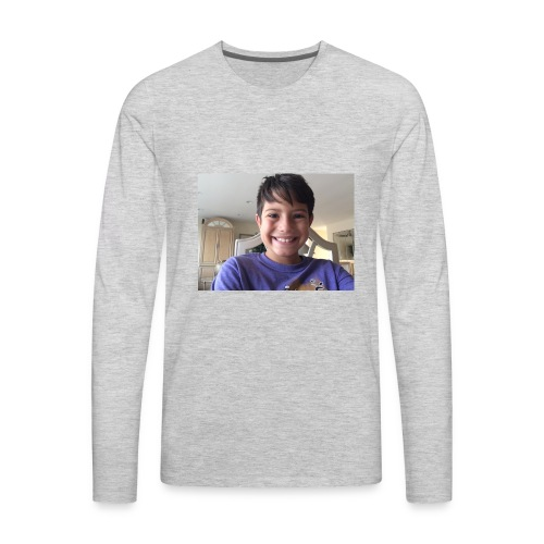 OwenGamer513 the smile is real - Men's Premium Long Sleeve T-Shirt