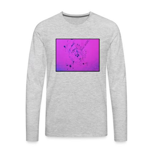 Music is Life - Men's Premium Long Sleeve T-Shirt